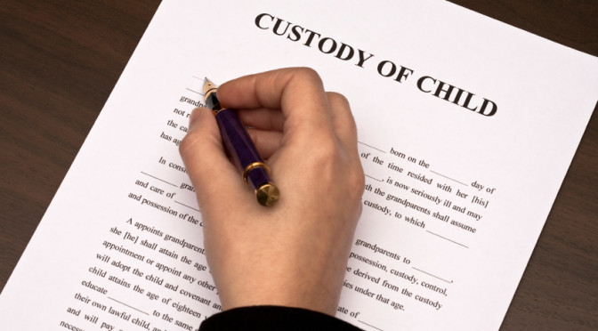 change child custody