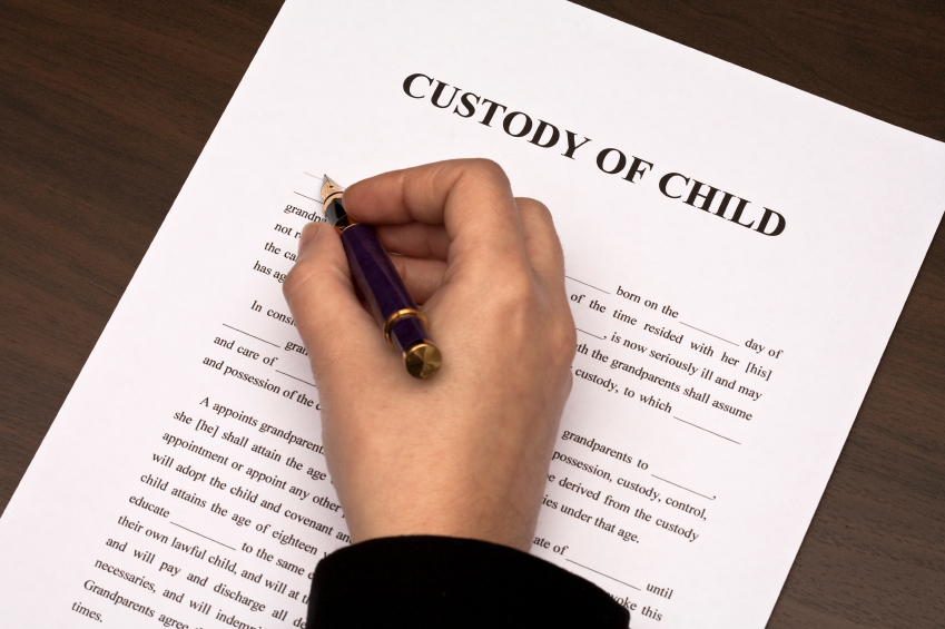 change child custody
